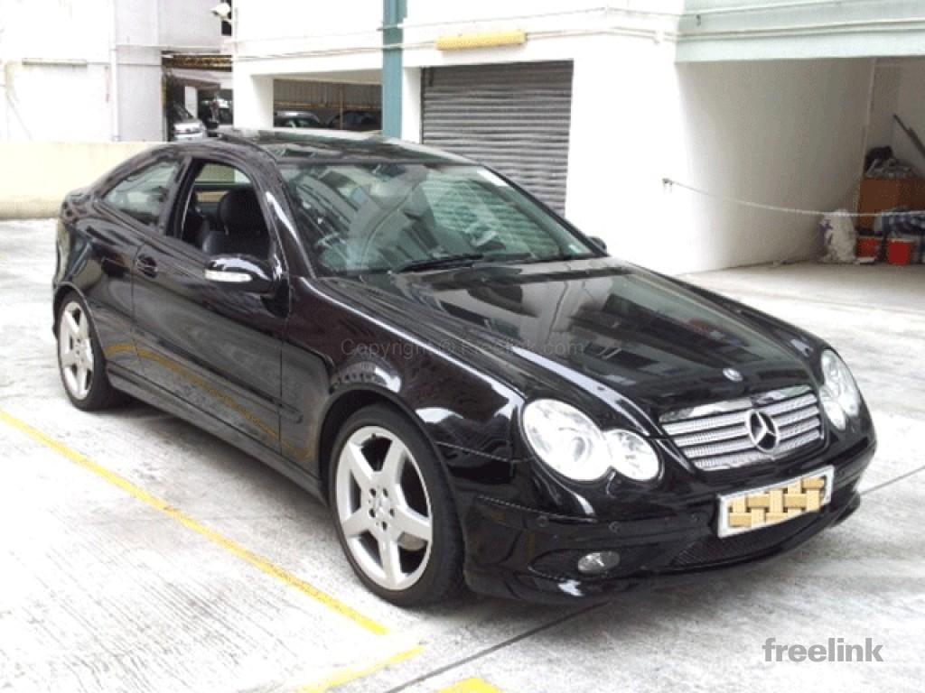 Sun ling motors hk ltd mercedes benz c230 sport coupe for Mercedes benz c230 coupe