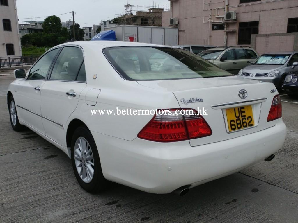 Better Motors pany Limited Toyota crown Royal saloon