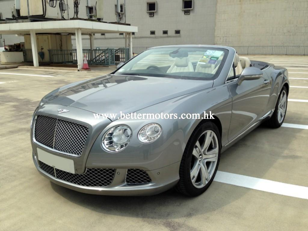 Better motors company limited bentley continental gtc w12 for Bentley motors limited dream cars