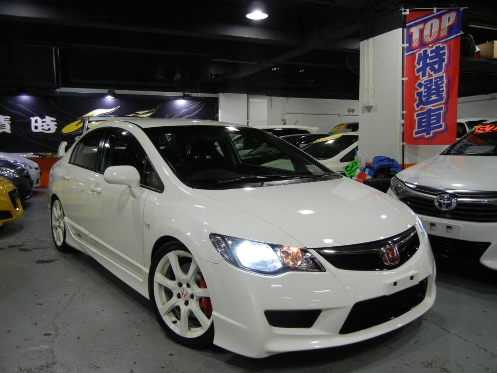 本田civic type r fd2 facelift