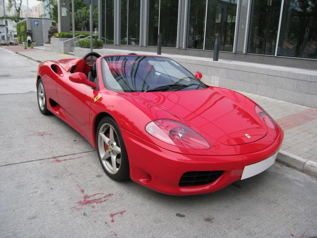 exclusive motors ferrari 360 spider. Black Bedroom Furniture Sets. Home Design Ideas